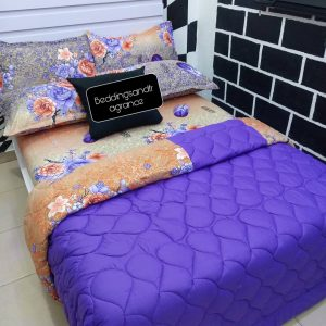 Affordable duvet and beedsheet with four pillow cases,which is made to give you comfortable sleep is available at your finger tip.place your other and get this colourful and quality duvet.